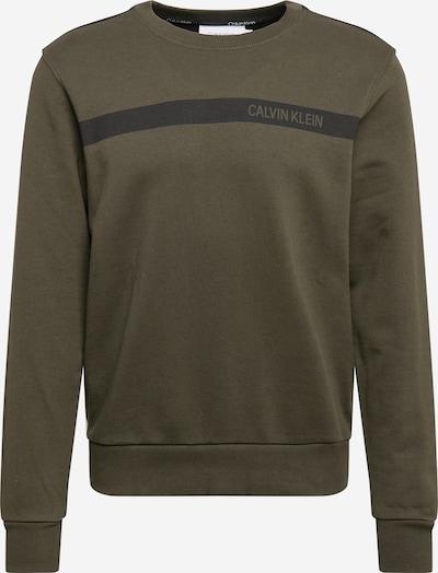 Megztinis be užsegimo iš Calvin Klein , spalva - alyvuogių spalva / juoda: Vaizdas iš priekio