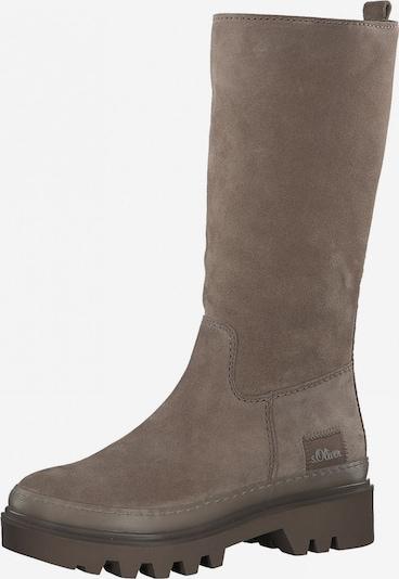 s.Oliver Boots in Dark beige, Item view