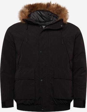 Jack & Jones Plus Between-Season Jacket 'SUPER' in Black