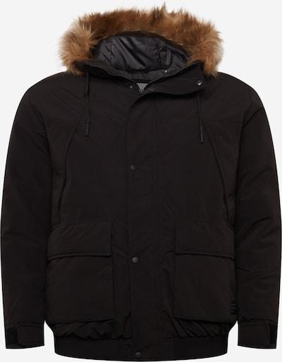 Jack & Jones Plus Between-Season Jacket 'SUPER' in Brown / Black, Item view