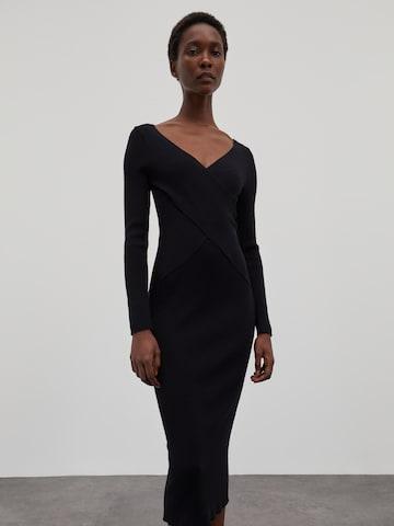 EDITED Kleid 'Poppy' - Čierna