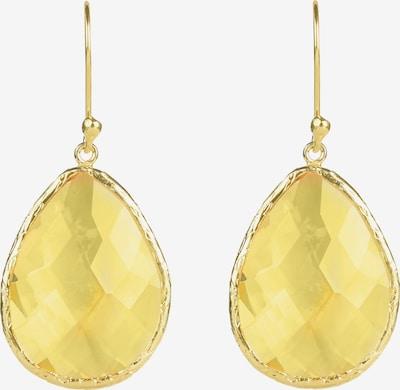Latelita Ohrringe in gelb, Produktansicht
