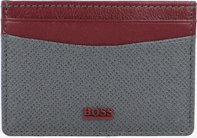 BOSS Casual Portemonnee in de kleur Grijs / Rood, Productweergave