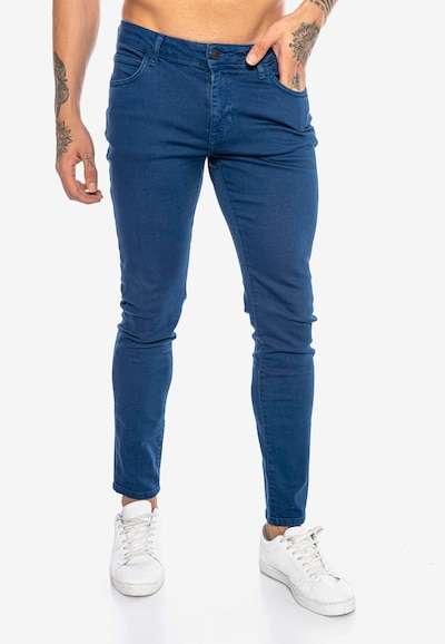 Redbridge Jeanshose 'Saitama Colored' in indigo, Modelansicht