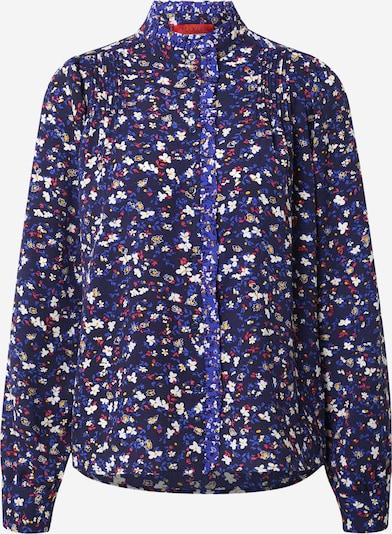 MAX&Co. Bluse 'DOSOLO' in blau / marine / safran / pitaya / weiß, Produktansicht