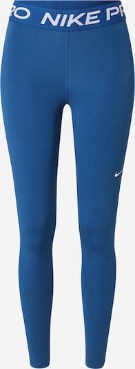 NIKE Pantalon de sport en bleu roi / blanc, Vue avec produit