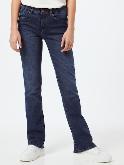 WRANGLER Jeans in blue denim, Modelansicht