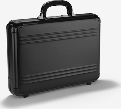 Zero Halliburton Aktenkoffer in schwarz, Produktansicht