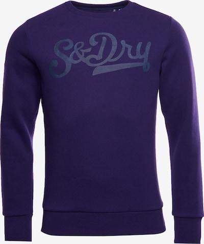 Superdry Sweatshirt in de kleur Blauw / Roodviolet, Productweergave