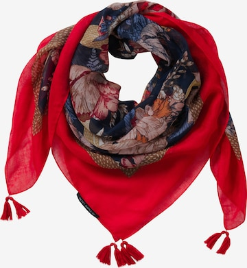 Betty Barclay Scarf in Red