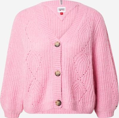Tommy Jeans Плетена жилетка в светлорозово, Преглед на продукта