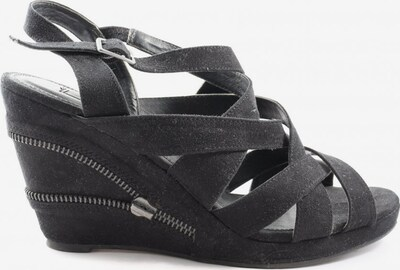 s.Oliver Plateau-Sandaletten in 38 in schwarz, Produktansicht