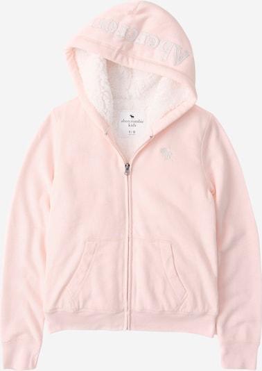 Abercrombie & Fitch Gornji dio trenirke u roza / bijela, Pregled proizvoda