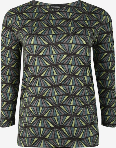 Doris Streich Pullover in blau / grau, Produktansicht
