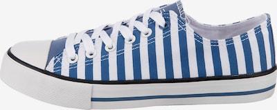 Inselhauptstadt Sneaker in blau / schwarz / weiß, Produktansicht