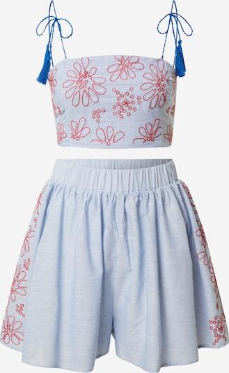 Trendyol Costume en bleu / rouge / blanc, Vue avec produit