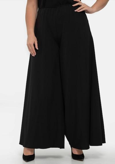 Wisell Broek in de kleur Zwart, Modelweergave
