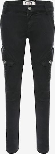 BLUE EFFECT Pantalon en noir, Vue avec produit