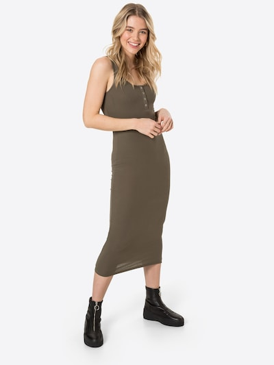 PIECES Kleid 'Kitte' in khaki, Modelansicht