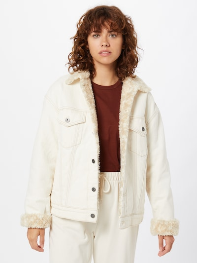 Levi's Made & Crafted Jacke 'Trucker' in weiß / offwhite, Modelansicht