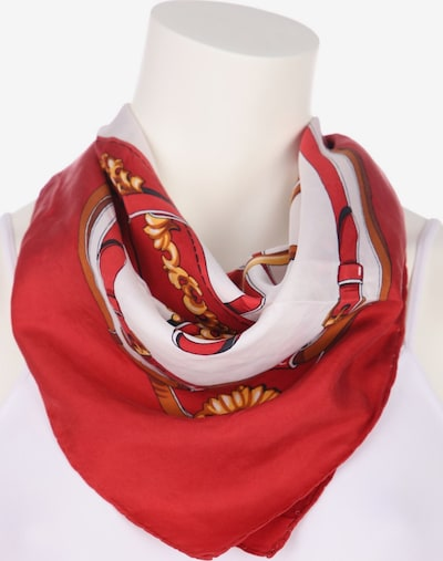 UNBEKANNT Scarf & Wrap in One size in Raspberry / Off white, Item view