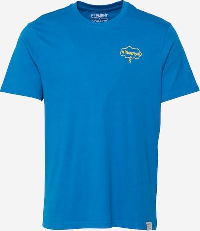 Tricou ELEMENT pe azuriu / galben / negru / alb, Vizualizare produs