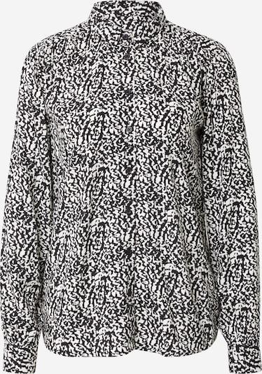 ICHI Bluse in schwarz / weiß, Produktansicht
