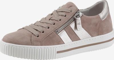 GABOR Sneaker in beige / silber, Produktansicht