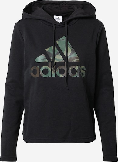 ADIDAS PERFORMANCE Sports sweatshirt in mixed colours / black, Item view