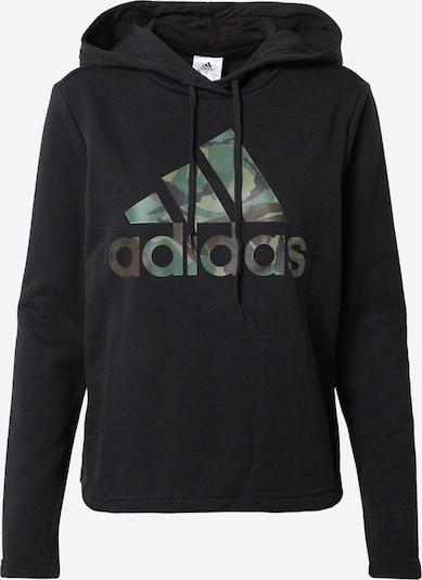 ADIDAS PERFORMANCE Sportsweatshirt in braun / dunkelgrau / khaki / schwarz, Produktansicht