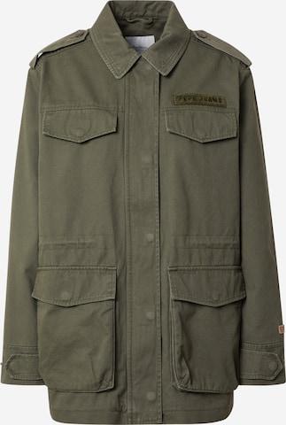 Pepe Jeans Between-Season Jacket 'NELLY' in Green