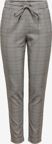 Pantalon à pince 'Poptrash' ONLY en gris