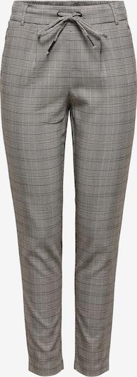 ONLY Pantalon à pince 'Poptrash' en gris chiné / noir, Vue avec produit