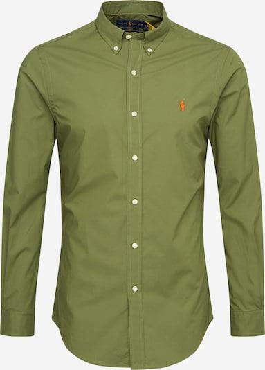 Dalykinio stiliaus marškiniai iš POLO RALPH LAUREN , spalva - alyvuogių spalva, Prekių apžvalga