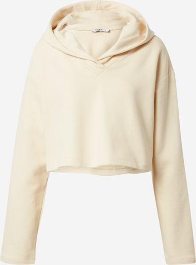 NA-KD Sweat-shirt en beige clair, Vue avec produit