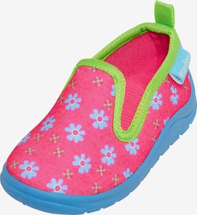 PLAYSHOES Pantofle - nebeská modř / limetková / pink, Produkt