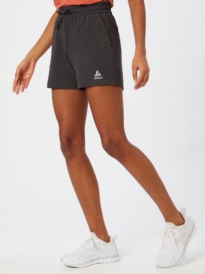 ODLO Sportovní kalhoty - stříbrně šedá / černá, Model/ka
