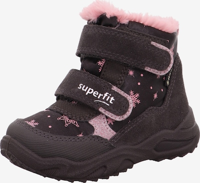 SUPERFIT Snow boots 'Glacier' in Chestnut brown / Light pink, Item view