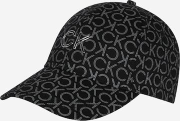 Calvin Klein Cap in Schwarz