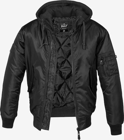 Brandit Jacke in schwarz, Produktansicht