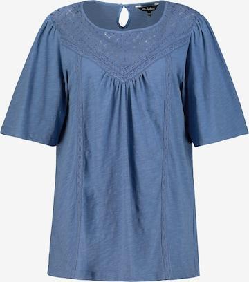 Bluză de la Ulla Popken pe albastru