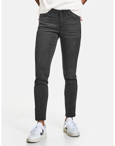 TAIFUN Jeans in black denim, Modelansicht