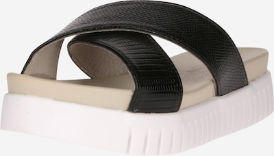 Sandale ILSE JACOBSEN pe negru, Vizualizare produs