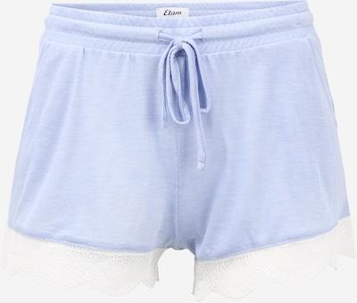 ETAM Pyžamové kalhoty 'WARM DAY' - světlemodrá / bílá, Produkt