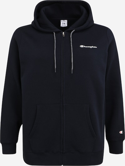 Champion Authentic Athletic Apparel Sweatjacke in navy, Produktansicht