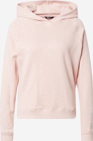 PRINCESS GOES HOLLYWOOD Sweatshirt 'Let's stay home' in Pink