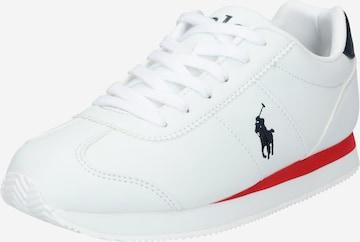 balts Polo Ralph Lauren Brīvā laika apavi