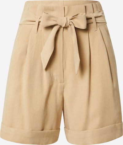 BRUUNS BAZAAR Pleat-front trousers in Sand, Item view