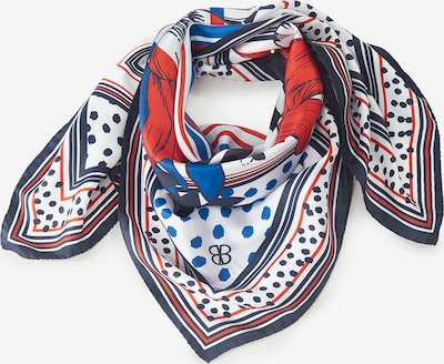 Basler Tuch in blau / mischfarben, Produktansicht