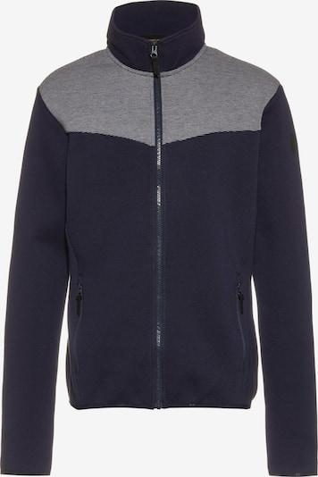 ICEPEAK Athletic Fleece Jacket 'Aitkin' in Night blue / mottled grey, Item view